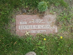 Lucille M. Lucy <i>Bowers</i> Choate
