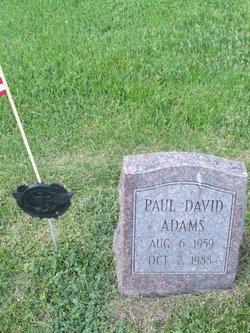 Paul David Adams