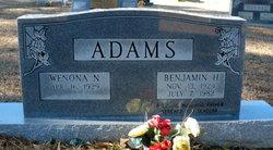 Benjamin Hughes Ben Adams, Jr