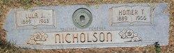Homer Thomas Nicholson