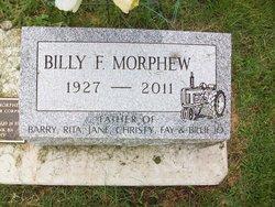 William Franklin Billy Morphew