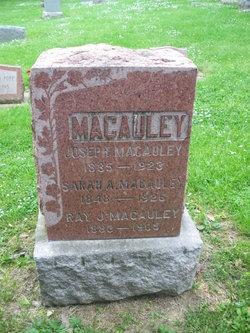Pvt Joseph Macauley