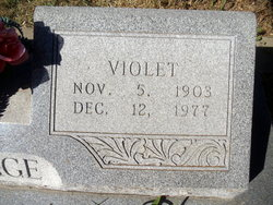 Violet <i>Wilmoth</i> Armitage