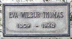 Eva Mae <i>Wilbur</i> Thomas