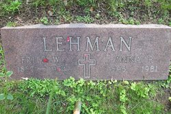 Fritz Wilhelm Lehman