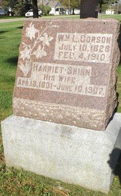 Harriet <i>Shinn</i> Corson