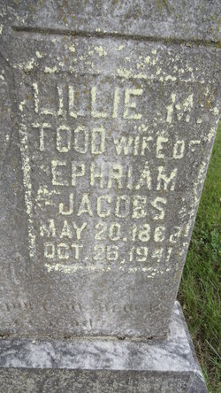 Lillie May <i>Todd</i> Jacobs