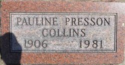 Pauline <i>Presson</i> Collins