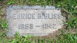 Eunice <i>Norman</i> Bliss