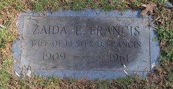 Zaida Elsie <i>Queen</i> Francis