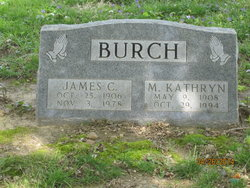 Maude Kathryn <i>Lineback</i> Burch