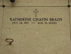 Katherine <i>Chafin</i> Brady