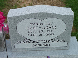 Wanda Lou <i>Bradley</i> Adair