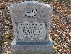 Infant Son Rauls