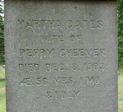 Martha <i>Gates</i> Cheever