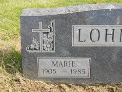 Mary Marie <i>Dondlinger</i> Lohmeier