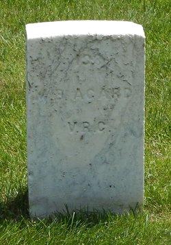 Pvt Morgan B Agard