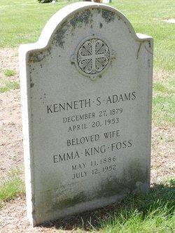 Emma King <i>Foss</i> Adams