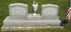 Betty J Snider