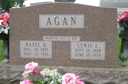 Hazel Dora <i>McCain</i> Agan