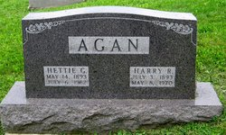 Hettie G. <i>Cooper</i> Agan