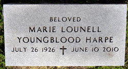 Marie Lounell <i>Youngblood</i> Harpe