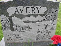 Emily J <i>York</i> Avery