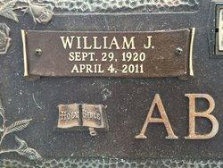 William Jessie Bill Absher
