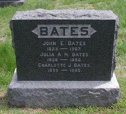 Julia A <i>Little</i> Bates