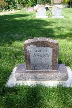 Edna Marie <i>Leach</i> Avers
