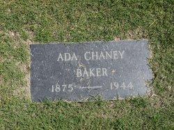 Ada <i>Chaney</i> Baker