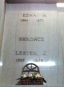 Edna May <i>Setzer</i> Shronce