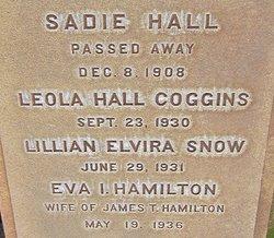 Leola <i>Hall</i> Coggins