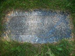 Mary P. <i>Philbin</i> Durham