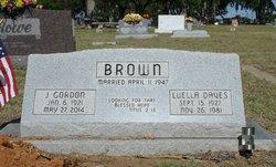 Luella <i>Daves</i> Brown