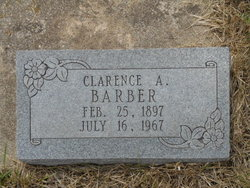 Clarence A Barber