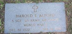 Harold E Alford