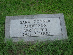Sara <i>Conner</i> Anderson