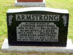 J. Gordon Armstrong