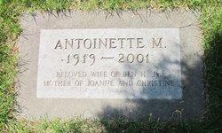 Antoinette M <i>Linger</i> Gilman