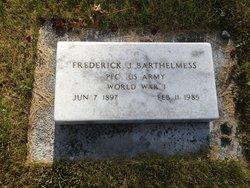 Frederick James Barthelmess