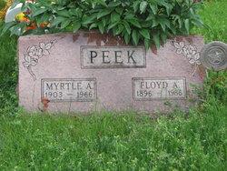 Floyd A. Peek
