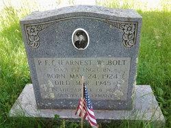 PFC Earnest Wayne Bolt