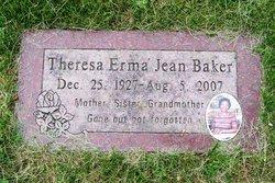 Theresa Erma Jean <i>Elliott</i> Baker
