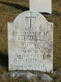Catherine <i>Fetters</i> Adams