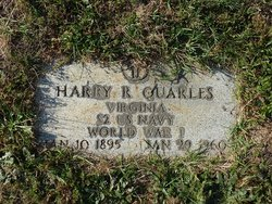 Harry R Quarles
