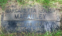 Margaretta Louisa Macauley