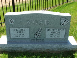 Violet Word Vy <i>Easley</i> Ammons