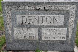 Mary Catherine <i>Hagin</i> Denton