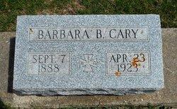 Barbara Blanche <i>Garey</i> Cary
